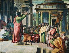 Peter's sermon after Pentecost