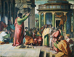Peter's sermon after Pentecost