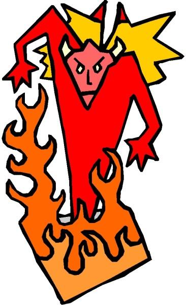 DEVIL IN FIRE 1