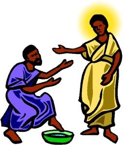 JESUS WASHING FEET 1
